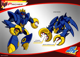 Gobots Animated Pincher by PWThomas