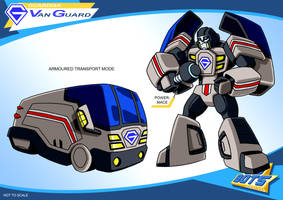 Gobots Animated Van Guard by PWThomas