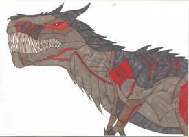 Transformers - Grimlock by Tyrannuss555