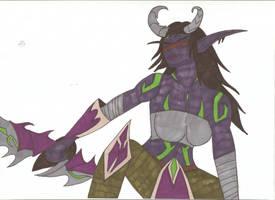 World of Warcraft - Adara by Tyrannuss555