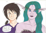World of Warcraft - Husband and Wife. by Tyrannuss555