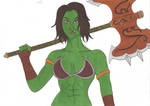 World of Warcraft - Thura by Tyrannuss555