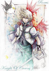 Roxas +Knight Of Crowns+ by Revenant-Wings