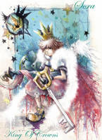 Sora +King Of Crowns+ by Revenant-Wings