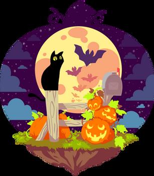 gettin spooky by Zingey