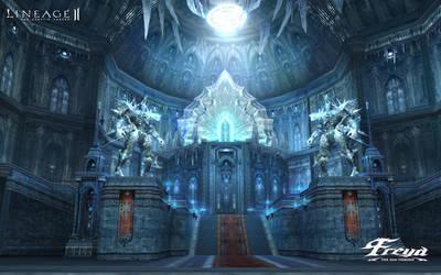 Ice Queen Freya's Castle by Brownfinger
