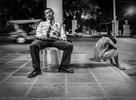 The Streets of Dumaguete by Henzonlee