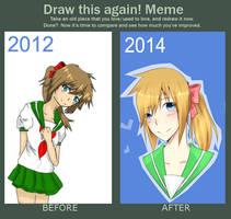 Improvement meme by Shuchiruuru
