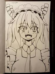 Miss Kobayashi's Dragon Maid - Tohru by mrgilder