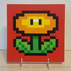 Super Mario All-Stars Fire Flower by mrgilder