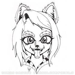 Fierce and Friendly Werewolf by mrgilder