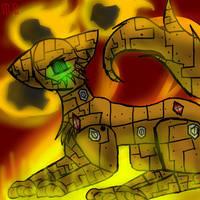 Robotic Cat by Da-Drawing-Cat-601