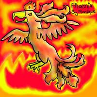 Phoenix Bird by Da-Drawing-Cat-601
