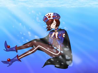 Sinking Knight by Alpha-Bread