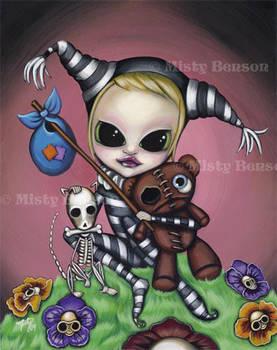 Fool - Morbidly Adorable Tarot by gossamerfaery
