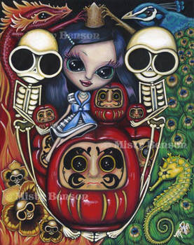 World -Morbidly Adorable Tarot by gossamerfaery