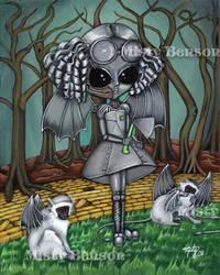 Tin Girl - Wizard of Oz by gossamerfaery