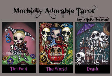Morbidly Adorable Tarot by gossamerfaery