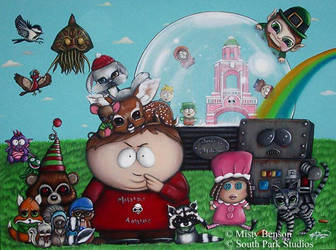 Diary of a Mad Cartman by gossamerfaery