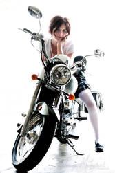 Biker Babe by Elvandia