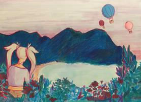 Hot Air Balloons by ambue