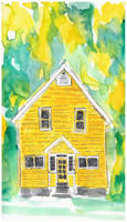 Yellow House by ambue