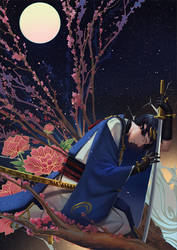 Mikazuki Munechika by PenguinFrontier