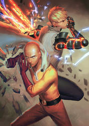 One Punch Man by PenguinFrontier