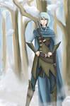 Winter elf by AlyaW