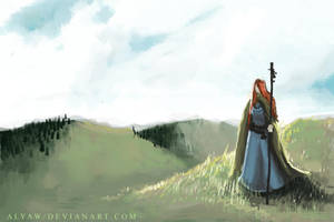 on the hills by AlyaW