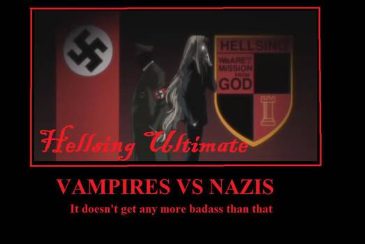 Hellsing Ultimate motivator by RayneWolfspeaker