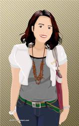 Girl in Vector by abz89