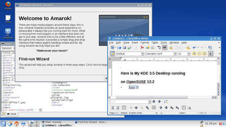 My KDE 3.5 Desktop by abz89