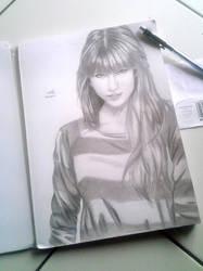 Taylor Swift Sketch by abz89