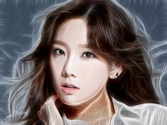 Taeyeon Art by Jover-Design