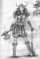 Viking_Girl by ipranawake