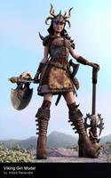 Viking_Girl_By_Indunil by ipranawake