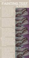 Monster Teef Tutorial-Walkthrough by Raven-Blood-13