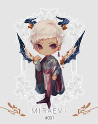 [closed] Auction: Miraevi 001 by aoneir