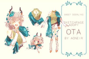 [closed] OTA: Sweet Deerling by aoneir