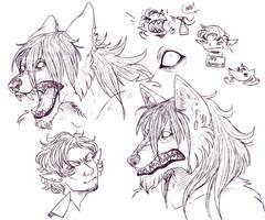 Casimir Doodles by DayByDayArtwork