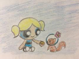 Bubbles und Sandy by PinkDuskStone