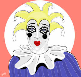 Sad Clown by Suyesil