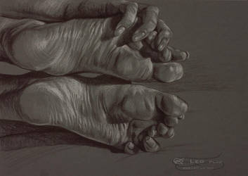Hands Feet by leoplaw