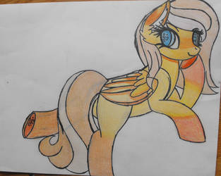 tiger lily(drawing) with color by tkn297