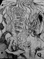 Notebook sketch by kimberliepee