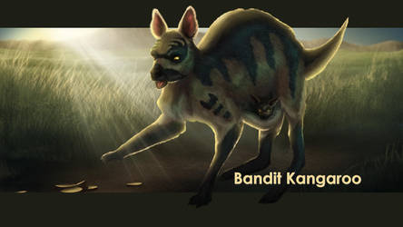 Bandit Kangaroo by SolaraEona