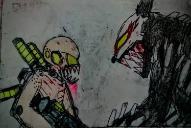 Chimera versus Grimm by Napasitart