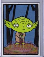 Stewie as Yoda by ElainePerna