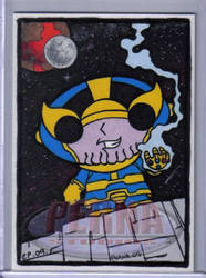 Stewie as Thanos by ElainePerna